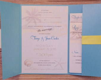 Palm tree Invitation,  Palm tree Invitations, Sunset Wedding Invitations, Sunset Invitation,Destination Invitations, travel invitations