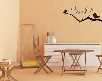A Love Song For Birds Vinyl Wall Art