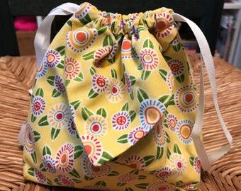 Walking on Sunshine Origami Bag