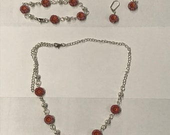 Spring Blossoms Jewelry Set