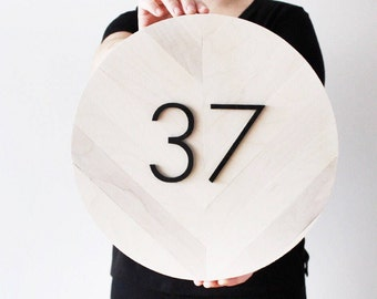 House Numbers, House Number Plaque, House Number Sign, Address Sign, Address Plaque, House Numbers, Address Numbers, Modern House Number