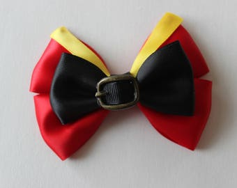 Gaston Beauty and the Beast Inspired Bow