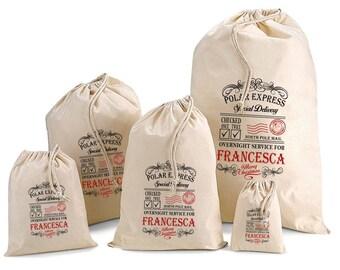 Personalised Santa Sack & Gift Bags - Francesca Design