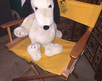RARE 1970 Peanuts Snoopy Directirs Chair
