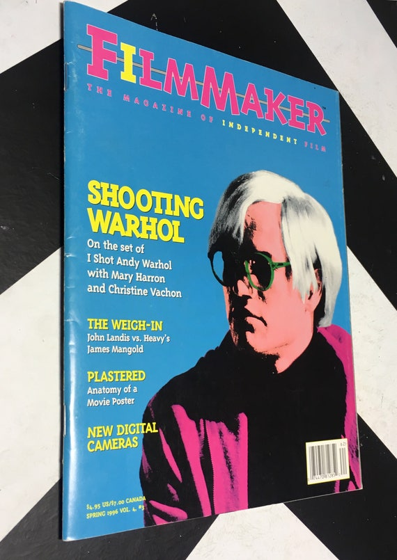 Filmmaker Magazine - The Magazine of Independent Film - Shooting Warhol: On the Set of I Shot Andy Warhol (Softcover, 1996)