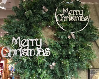 Merry Christmas Home Decor, UNPAINTED Wedding, Baby, Romantic, Holiday, Christmas 1129P