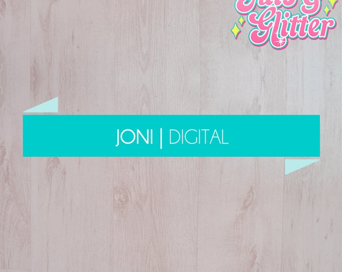 Digital Download Simple Banner Logo