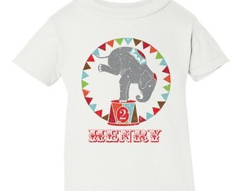 Circus Birthday Shirt, Circus Birthday Party, 1st Birthday, Circus Birthday, Circus Birthday T-Shirt Iron-On, Circus DIY Printable Transfer