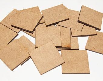 30mm Square Shapes For Craft/Scrap-booking/Decoration