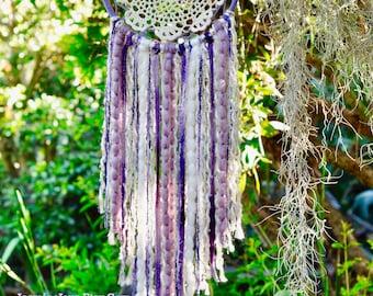 Lavender Doily Dream Catcher