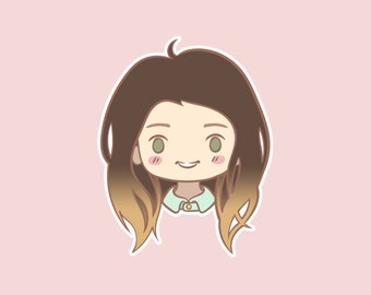 Custom Chibi Portrait for Avatars, Icons and Profile Pictures