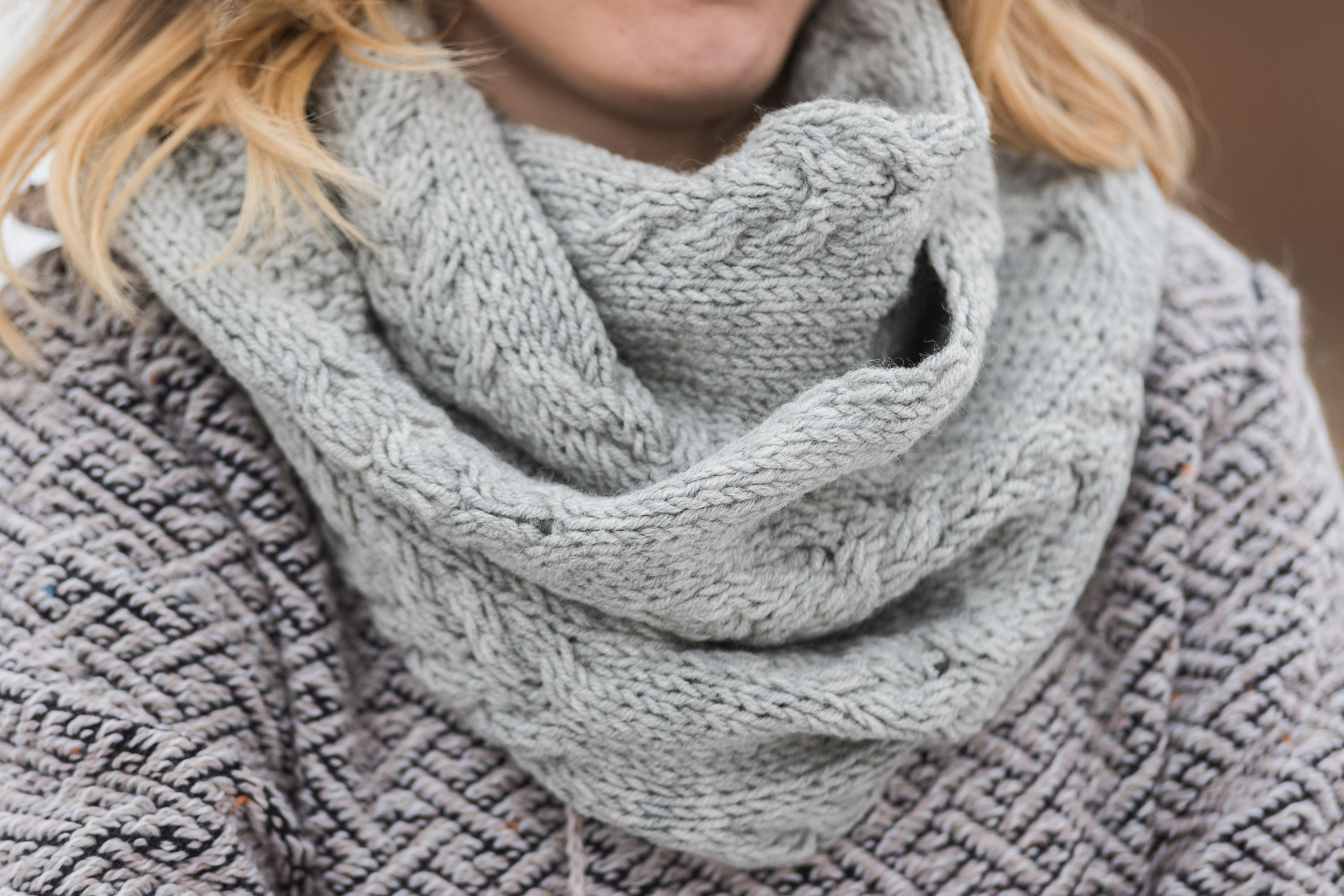 annabelle scarf york new grey product brooke infinity