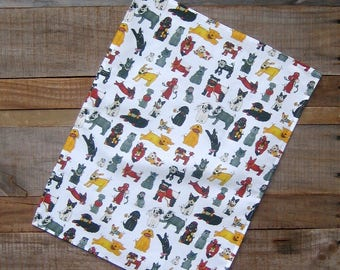 Rescue Dogs Print Kitchen Towel