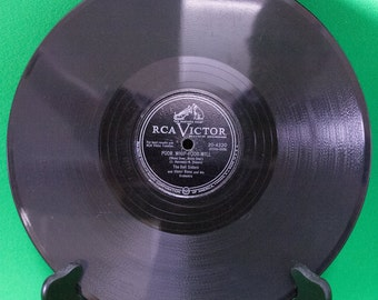 "1951 RCA Victor 10"" Shellac 78 RPM Record, The Bell Sisters, Play-Rated VG-!"