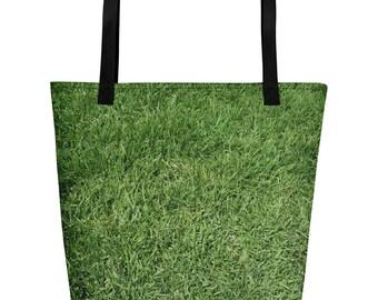 Green Grass - Beach Bag