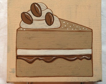 Coffee cake double hook canvas