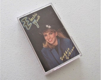 Debbie Gibson, Electric Youth Music Cassette Tape, 80s Pop Music