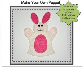 PDF Template Download - Bunny Hand Puppet