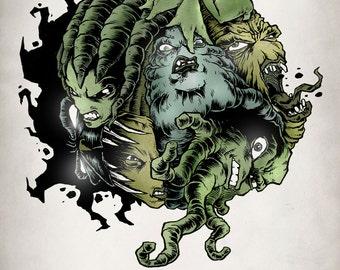 NOVO: The Entire Series - Graphic Novel - Comic