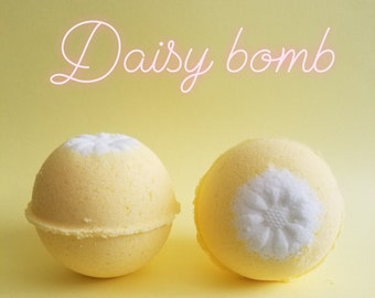 Mother's Day Daisy Bath Bomb-Flowers-gift for her