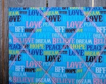Love & Peace, Picture board