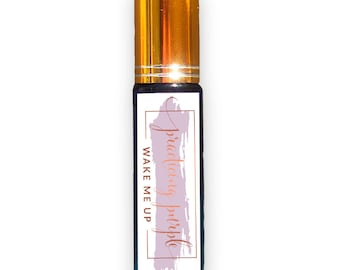 WAKE ME UP Essential Oil Roll-On, Aromatherapy