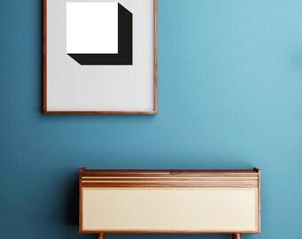SQUARES_001, art, digital art download, minimal , contemporary, modern, print, printable,