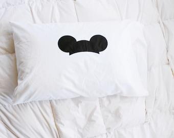 Mickey Mouseketeer pillowcase / pillow case / Disney inspired