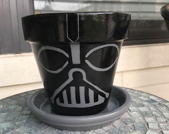 Star Wars Darth Vader Flower Pot