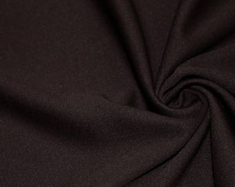 Aubrey BROWN Polyester Scuba Polyester Scuba Stretch Knit Fabric by the Yard - Style 5001