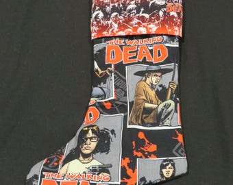 Walking Dead Christmas Stocking