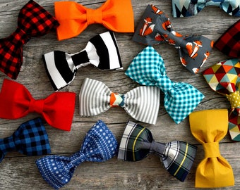 Collar Bowties (this is a bowtie only listing)- please note the pattern of your choice at checkout