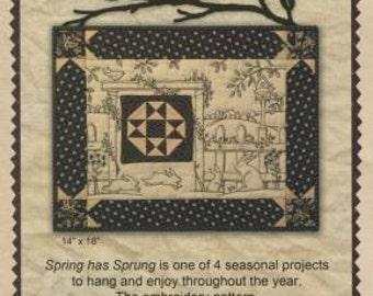Spring Has Sprung Pattern