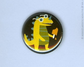 "Popsiclesaurus 1"" Pin-Back Button"