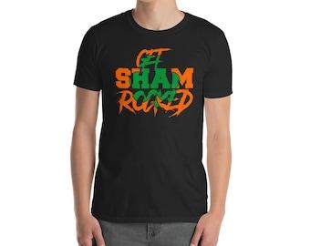 Get Shamrocked- Funny T Shirt- Irish Drinking Shirt- St Paddys Day Shirt- St Patricks Day Shirt- Saint Patricks Day Shirt