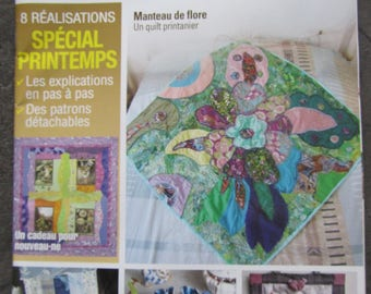 Magazine: Creating patchwork - April-May-June 2011 - spring special achievements