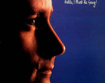 Phil Collins-Hello, I must be going Vintage Vinyl Record 1982