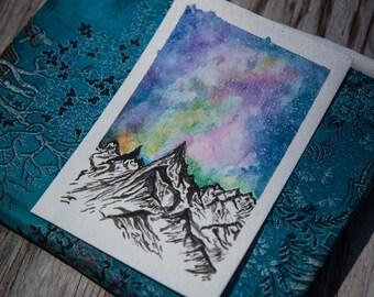Watercolor Postcard 2