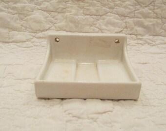 Vintage Porcelain Soap Dish SALE