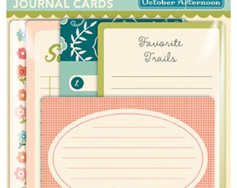October Afternoon Woodland Park Journal Cards