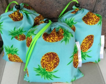 Harvest bags, reusable fruit and vegetable bags
