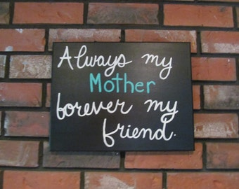 Gift for Mother, Mom Quotes, Mothers Day Gift, Canvas Quote Art, Quotes on Canvas, Canvas Art Quote, Gift for Mom