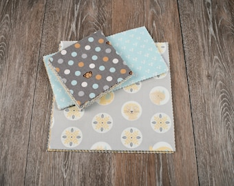 Precut Quilt Kit for Baby, Gender neutral, Premium fabric, Top only, Instructions for quilt top included