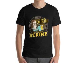 Funny Australian Aussie Accent Shirt Great Gift Idea For Men Women Kids T-Shirt