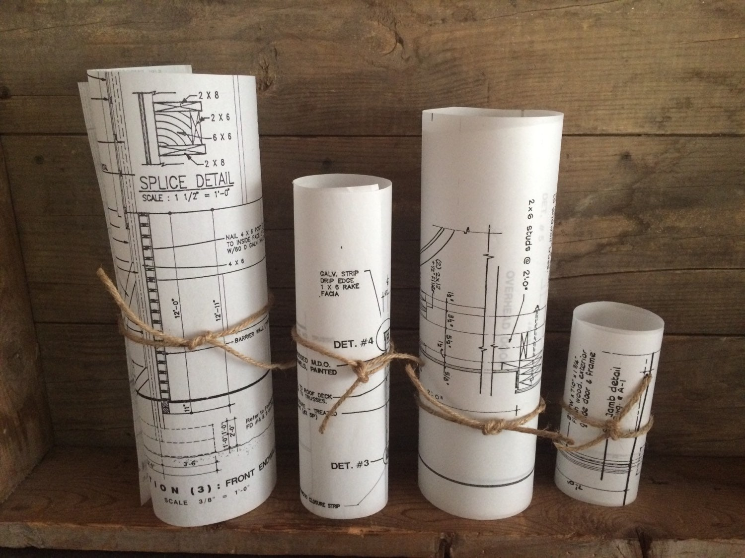 Package of 32 large blueprint luminaries architect blueprints 2000 shipping malvernweather Image collections