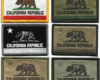 BuckUp Tactical Morale Patch Hook California Sacremento State Patches 3x2""
