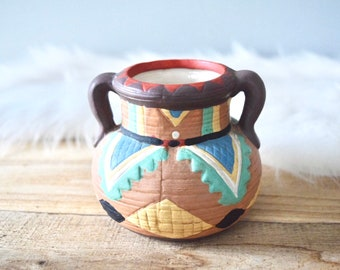 Vintage Small Southwestern Hand-Painted Pottery