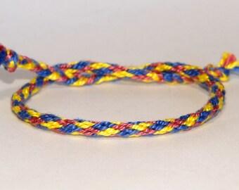 Kumihimo bracelets - handmade - Japan - ethnic - tribal - ibiza - ooak - armcandy