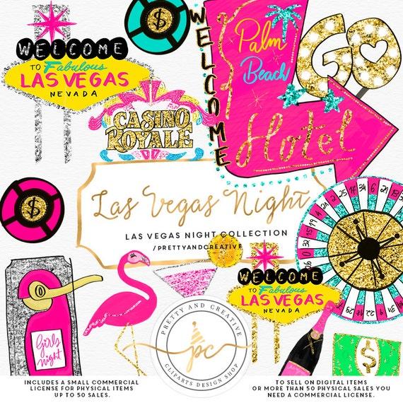 las vegas clipart glitter set clip art vegas party casino rh etsy com las vegas clip art images las vegas clipart