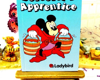 The Sorcerers Apprentic Vintage Walt Disney First Edition Ladybird Book 1984  featuring Mickey Mouse